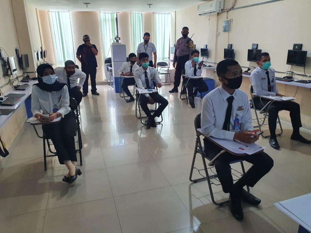 Ujian Negara AVSEC PSPP Makassar Datangkan Polisi
